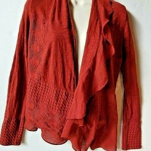 Anthropologie Meadow Rue Paso Doble Sweater XS